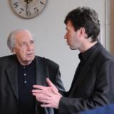 Pierre Boulez & Fabien Lévy, New York, March 2010